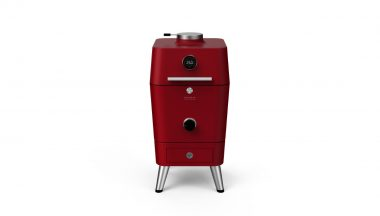 4K - מעשנת פחם הצתה חשמלית - אדום